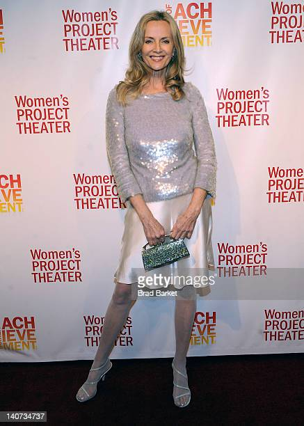 Model Bonnie Pfeifer Evans attends the Women's Project's 2012 Women of Achievement 27th Annual gala celebration at the Copacabana on March 5 2012 in...