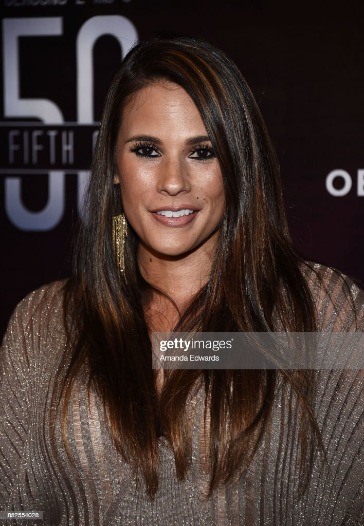 Model Bonnie-Jill Laflin arrives at the premiere of OBB Pictures and go90's 'The 5th Quarter' at United Talent Agency on November 29, 2017 in Beverly Hills, California.