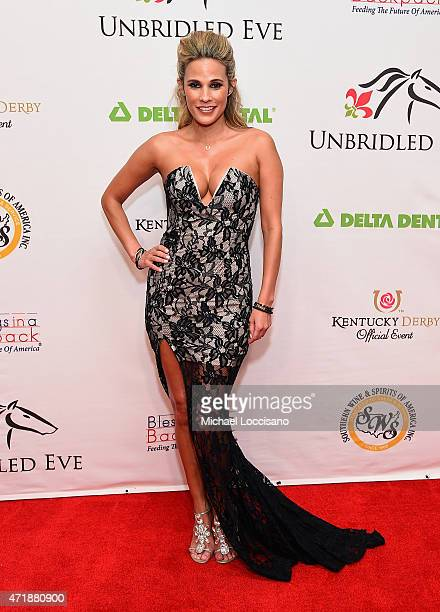 Model BonnieJill Laflin attends the 141st Kentucky Derby Unbridled Eve Gala at Galt House Hotel Suites on May 1 2015 in Louisville Kentucky