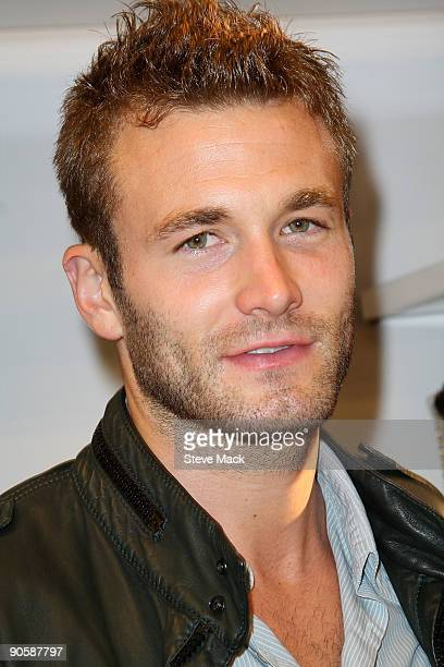 Model Brad Kroenig with Ford Models attends the celebration for Fashion's Night Out at ALDO on September 10 2009 in New York City
