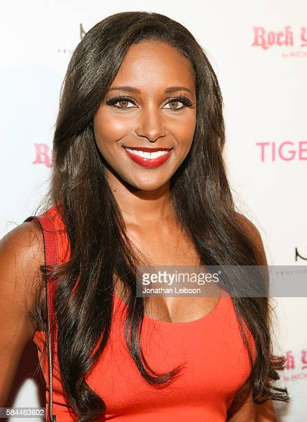 Model Brandi Rhodes attends TigerBeat's Official Teen Choice Awards PreParty Sponsored by NYX Professional Makeup and Rock Your Hair at HYDE Sunset...