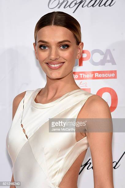 Model Bregje Heinen attends ASPCA 19th Annual Bergh Ball honoring Drew Barrymore hosted by Nathan Lane wiith music by Mark Ronson at the Plaza Hotel...