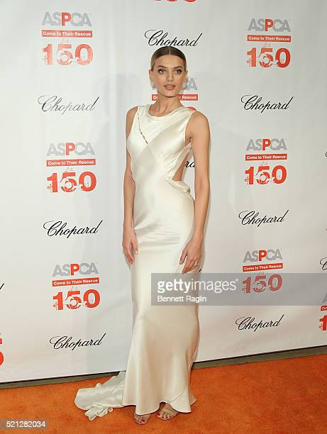 Model Bregje Heinen attends the 19th Annual ASPCA Bergh Ball at The Plaza Hotel on April 14 2016 in New York City