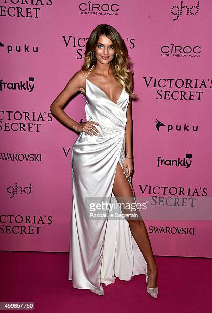 Model Bregje Heinen attends the after party for the annual Victoria's Secret fashion show at Earls Court on December 2 2014 in London England