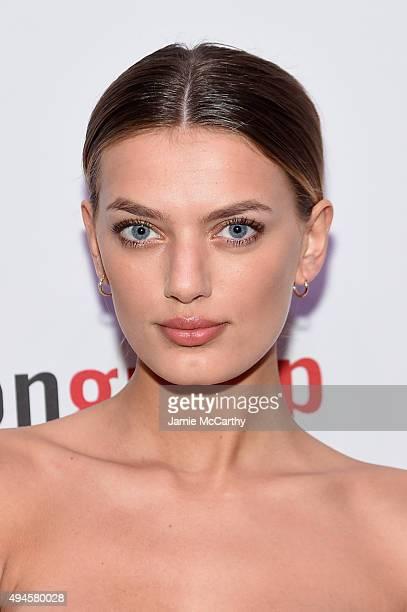Model Bregje Heinen attends the Pier 59 Studios 20th Anniversary Party at Pier 59 Studios on October 27 2015 in New York New York