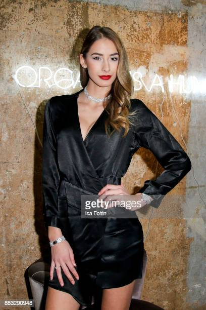 Model Brenda Patea attends the First Female DIY Pop Up Store Opening at Seven Star Gallery on November 30 2017 in Berlin Germany