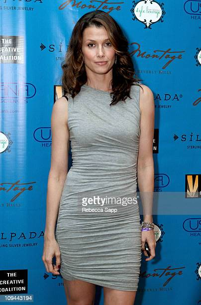 Model Bridget Moynahan attends Kari Feinstein's Academy Awards Style Lounge at Montage Beverly Hills on February 25 2011 in Beverly Hills California