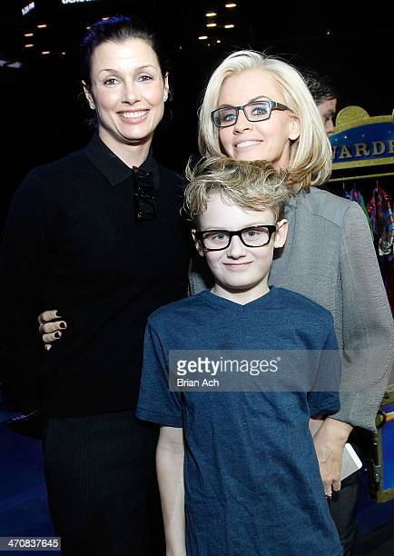 Model Bridget Moynahan Evan Joseph Asher and Jenny McCarthy attend Ringling Bros and Barnum Bailey presents Legends at Barclays Center of Brooklyn on...