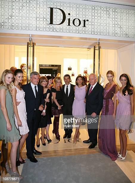 Model Brinna Barnes model Tiana Zarlin President Dior Global Sidney Toledano Elizabeth Segerstrom President of Christian Dior Pamela Baxter Executive...