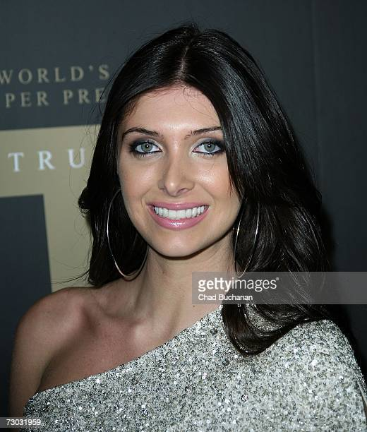 Model Brittny Gastineau attends Trump Vodka launch party at Les Deux on January 17, 2007 in Los Angeles, California.