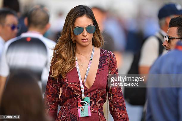 US model Brittny Ward attends the Abu Dhabi Formula One Grand Prix at the Yas Marina circuit on November 26 2016 / AFP / Andrej ISAKOVIC