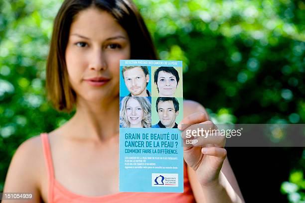 Model Brochure Of Information On Skin Cancer