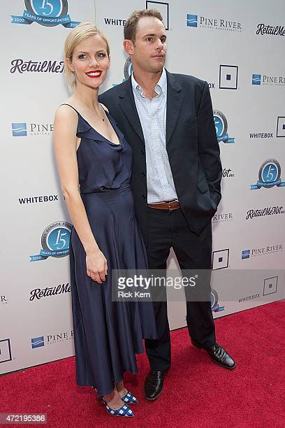 Model Brooklyn Decker and retired professional tennis player Andy Roddick attend the 10th Annual Andy Roddick Foundation Gala at ACL Live on May 4...