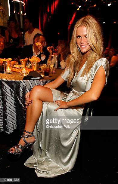 Model Brooklyn Decker attends Spike TV's 4th Annual 'Guys Choice Awards' held at Sony Studios on June 5 2010 in Los Angeles California