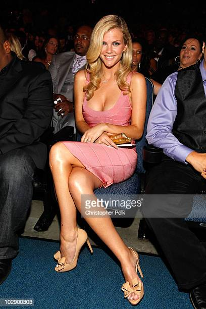 Model Brooklyn Decker attends the 2010 ESPY Awards at Nokia Theatre LA Live on July 14 2010 in Los Angeles California