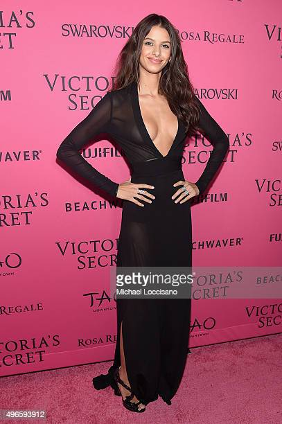 Model Bruna Lirio attends the 2015 Victoria's Secret Fashion After Party at TAO Downtown on November 10 2015 in New York City