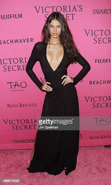 Model Bruna Lirio attends the 2015 Victoria's Secret Fashion Show after party at TAO Downtown on November 10 2015 in New York City