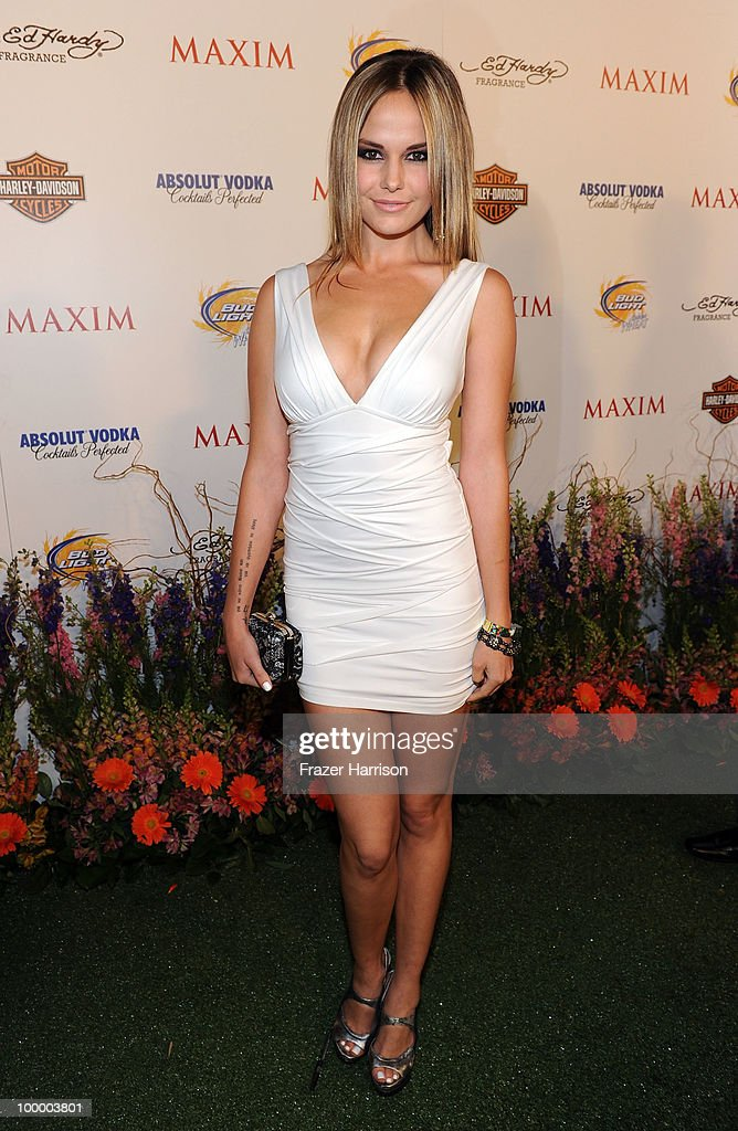 Model Caite Upton arrives at the 11th annual Maxim Hot 100 Party with Harley-Davidson, ABSOLUT VODKA, Ed Hardy Fragrances, and ROGAINE held at Paramount Studios on May 19, 2010 in Los Angeles, California.