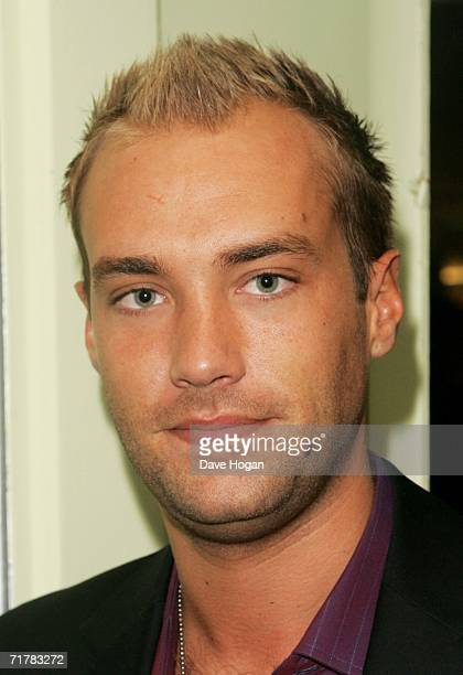 Model Calum Best arrives at the TV Quick and TV Choice Awards at the Dorchester Hotel Park Lane on September 4 2006 in London England The annual...