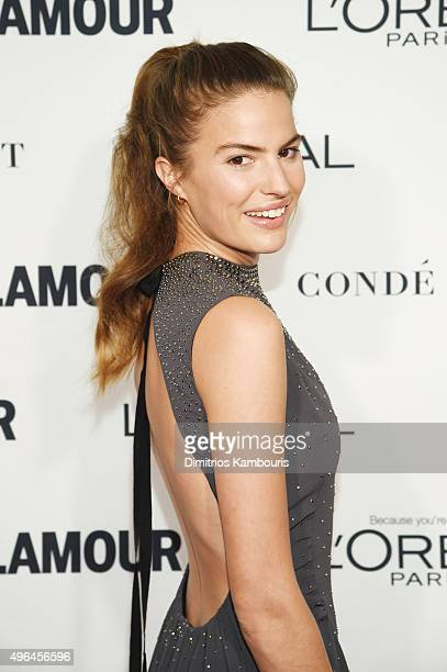 Model Cameron Russell attends 2015 Glamour Women Of The Year Awards at Carnegie Hall on November 9 2015 in New York City