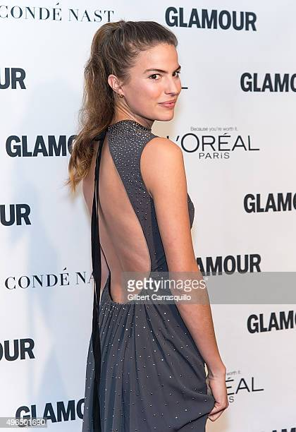 Model Cameron Russell attends Glamour's 25th Anniversary Women Of The Year Awards at Carnegie Hall on November 9 2015 in New York City