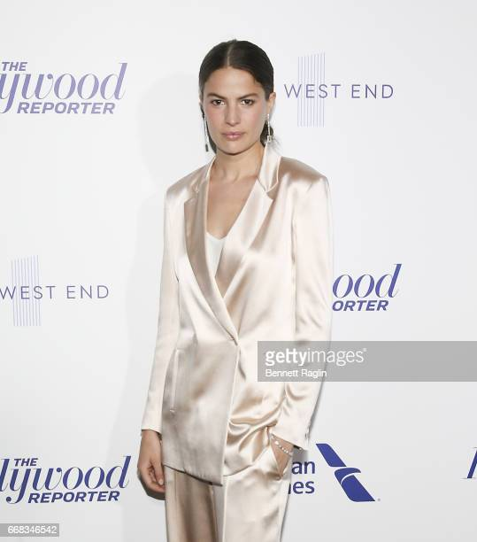 Model Cameron Russell attends The Hollywood Reporter's 35 Most Powerful People In Media 2017 at The Pool on April 13 2017 in New York City