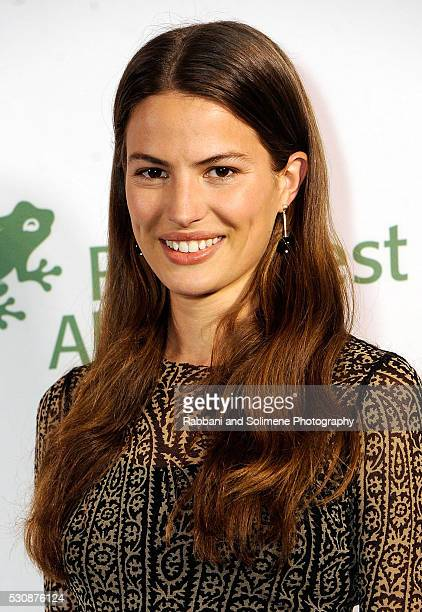 Model Cameron Russell attends the Rainforest Alliance Gala at The American Museum of Natural History on May 11 2016 in