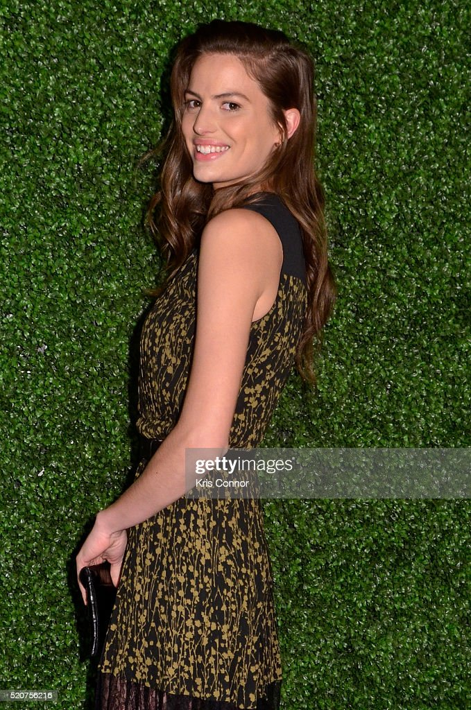 Model Cameron Russell attends the World Food Program USA's 2016 McGovern-Dole Leadership Award Ceremony at the Organization of American States on April 12, 2016 in Washington, DC.
