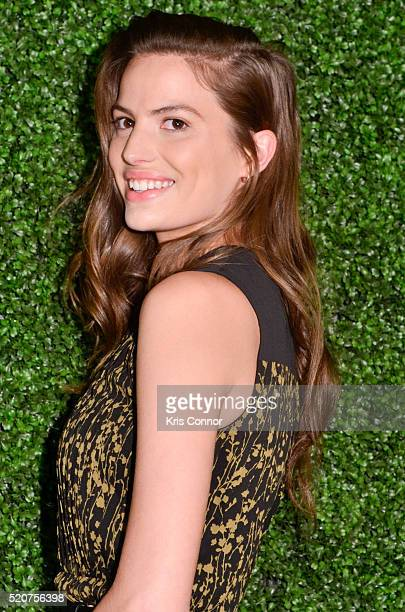 Model Cameron Russell attends the World Food Program USA's 2016 McGovernDole Leadership Award Ceremony at the Organization of American States on...