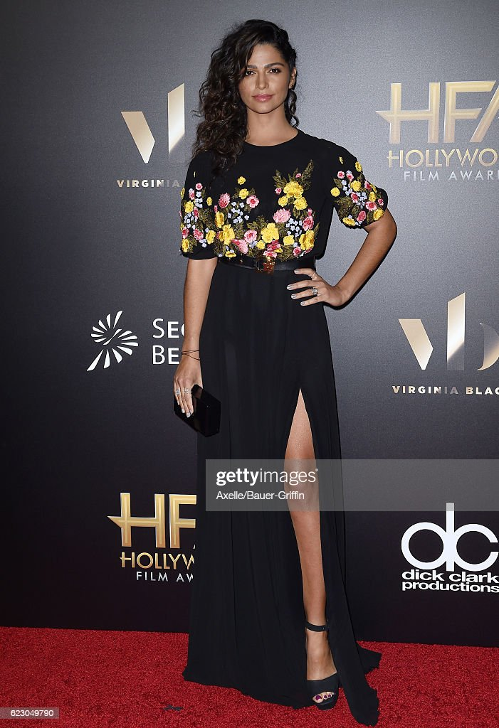 Model Camila Alves arrives at the 20th Annual Hollywood Film Awards at the Beverly Hilton Hotel on November 6, 2016 in Los Angeles, California.