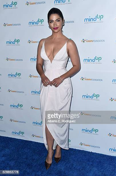 Model Camila Alves attends Goldie Hawn's Annual Goldie's Love In For Kids on May 06 2016 in Beverly Hills California