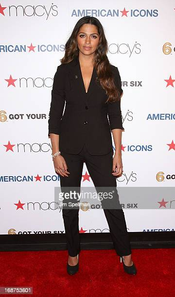 Model Camila Alves attends Macy's American Icons Campaign Launch at Gotham Hall on May 14 2013 in New York City