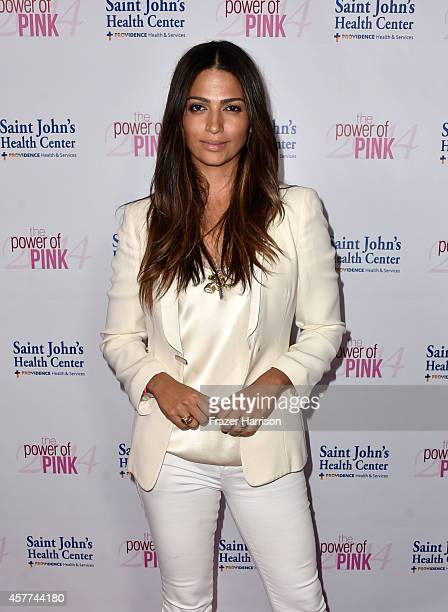 Model Camila Alves attends Power of Pink 2014 Benefiting the Cancer Prevention Program at Saint John's Health Center at House of Blues Sunset Strip...