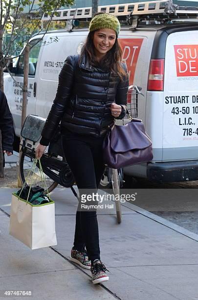 Model Camila Alves is seen walking in SoHo on November 16 2015 in New York City