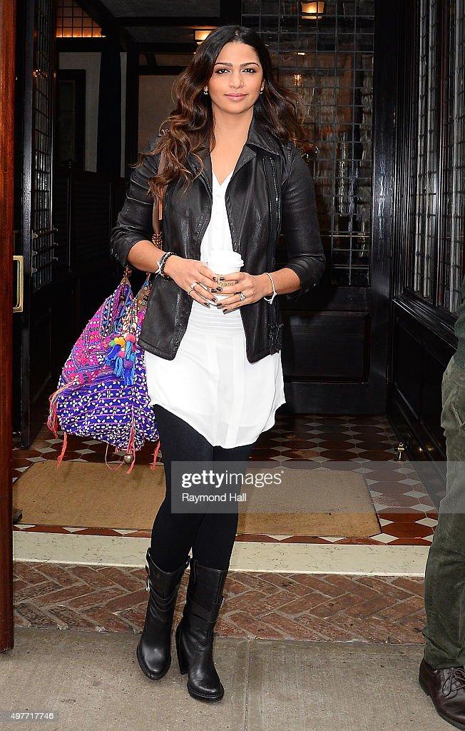 Celebrity Sightings In New York City - November 18, 2015 : News Photo