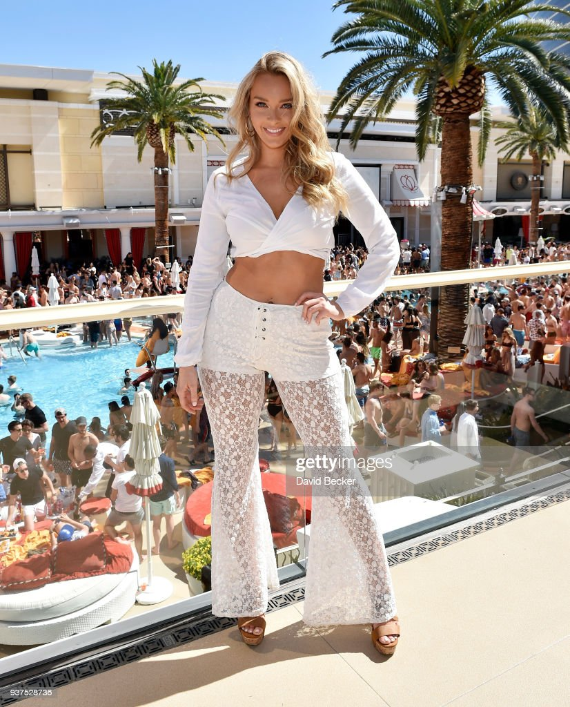 Camille Kostek Swimsuit Model: Model Camille Kostek Attends Sports Illustrated Swimsuit