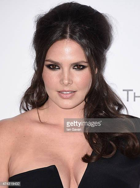 Model Candice Huffine attends amfAR's 22nd Cinema Against AIDS Gala Presented By Bold Films And Harry Winston at Hotel du CapEdenRoc on May 21 2015...