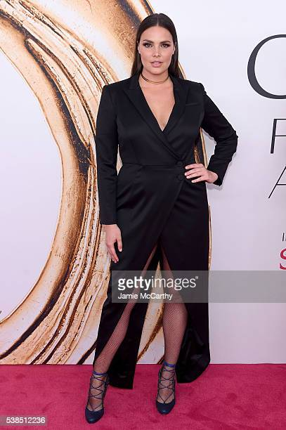 Model Candice Huffine attends the 2016 CFDA Fashion Awards at the Hammerstein Ballroom on June 6 2016 in New York City