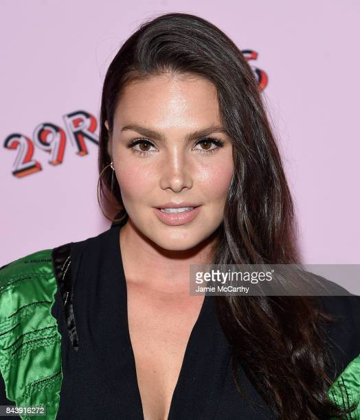 Model Candice Huffine attends the Refinery29 Third Annual 29Rooms Turn It Into Art event on September 7 2017 in the Brooklyn borough of New York City...