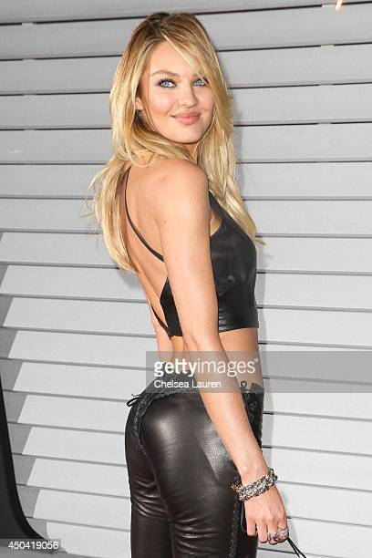 Model Candice Swanepoel arrives at Maxim Hot 100 at Pacific Design Center on June 10 2014 in West Hollywood California