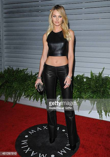 Model Candice Swanepoel arrives at the MAXIM Hot 100 Celebration Event at Pacific Design Center on June 10 2014 in West Hollywood California