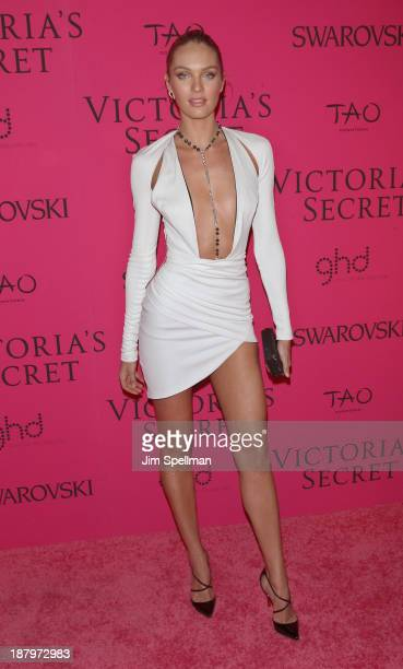 Model Candice Swanepoel attends the after party for the 2013 Victoria's Secret Fashion Show at TAO Downtown on November 13 2013 in New York City