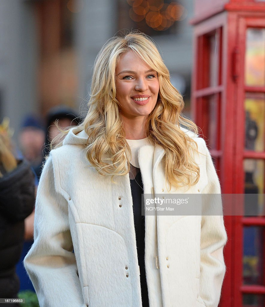 Model Candice Swanepoel is seen on November 6, 2013 in New York City.