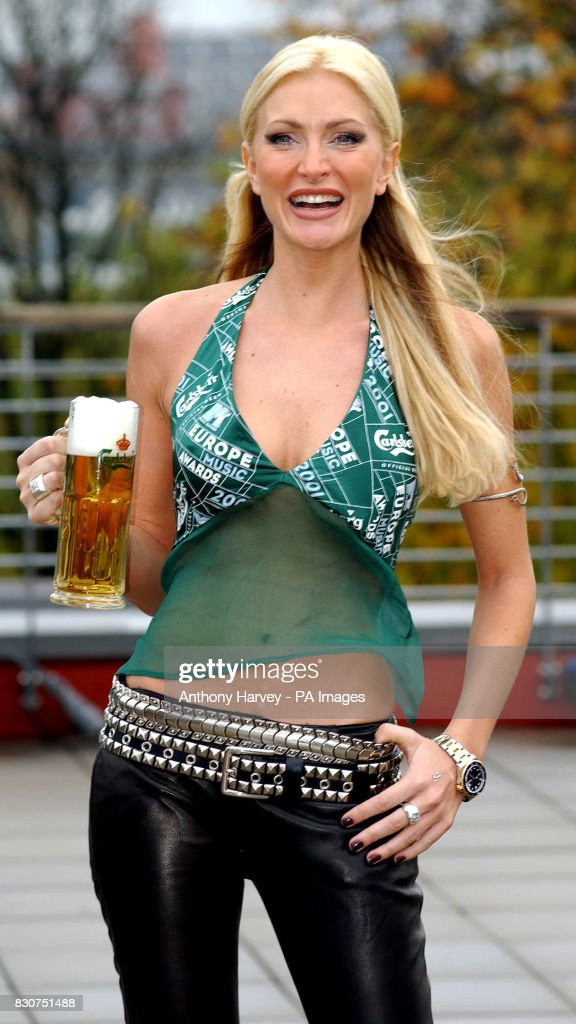 limited guantity newest hot new products Model Caprice during a photocall in Frankfurt, Germany to ...