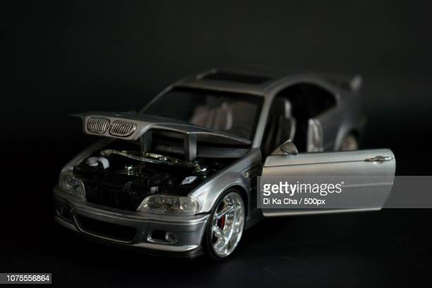 bmw model car 2 - pie in the face stock pictures, royalty-free photos & images