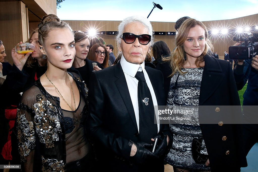 cbfc4690268 Chanel   Front Row - Paris Fashion Week - Haute Couture Spring Summer 2016    News