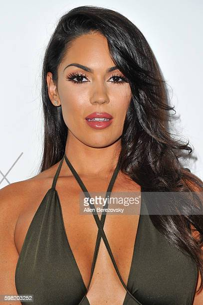 Model Carissa Rosario attends Boohoo X Jordyn Woods Fashion Event at NeueHouse Hollywood on August 31 2016 in Los Angeles California