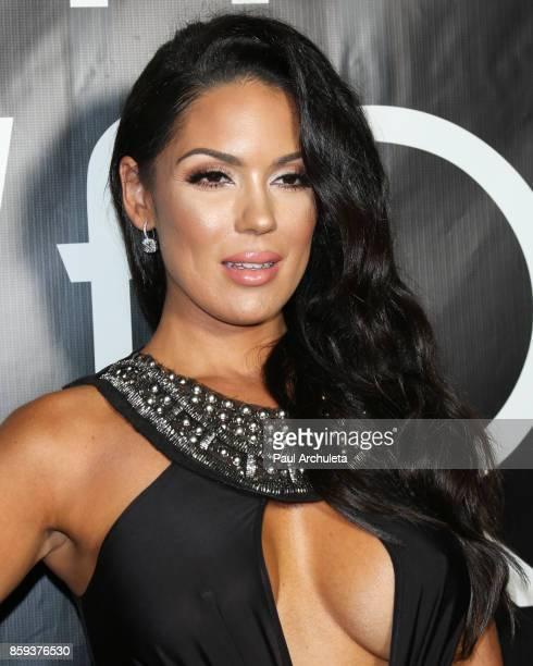 Model Carissa Rosario attends the 4th Annual CineFashion Film Awards at The El Capitan Theatre on October 8, 2017 in Los Angeles, California.