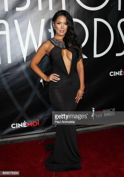 Model Carissa Rosario attends the 4th Annual CineFashion Film Awards at The El Capitan Theatre on October 8 2017 in Los Angeles California