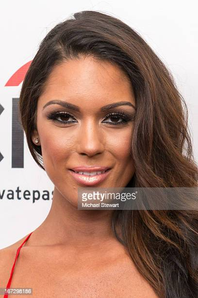 """Model Carissa Rosario attends the """"All My Children"""" & """"One Life To Live"""" premiere at Jack H. Skirball Center for the Performing Arts on April 23,..."""